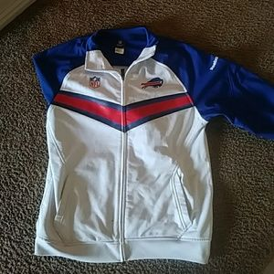 Nfl Buffalo Bills zip-up hoodless jacket